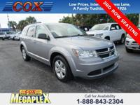 This 2015 Dodge Journey SE in Billet Silver Metallic