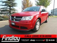 Options:  2015 Dodge Journey American Value Pkg|Redline