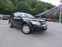 Pitch Black Clearcoat 2015 Dodge Journey SE FWD 4-Speed