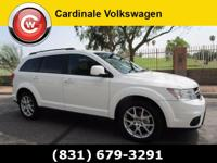 New Price! White 2015 Dodge Journey SXT FWD 4-Speed