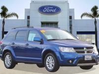 Options:  2015 Dodge Journey Sxt|Blue/|V4 2.4 L