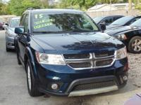 Options:  2015 Dodge Journey Sxt|Blue|Hold On To Your