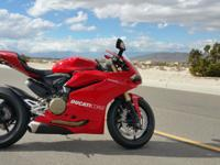2015 Ducati 1299 Panigale Purchased brand new from