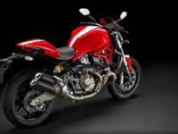 Bold and essential design. 2015 Ducati Monster 821