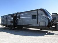 The Aerolite 315BHSS ultralight travel trailer