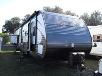 A 35'8 Brand New TT Bunkhouse made by Dutchmen with