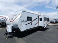 2015 Eclipse MILAN 27RLSG HITCH INCLUDED! 1 SLIDE REAR