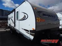 (435) 363-3536 ext.135 The EVO T2460 travel trailer by