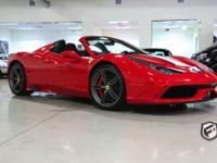 The 458 speciale a (a as in aperta) new limited edition