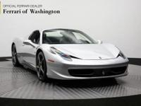 This outstanding example of a 2015 Ferrari 458 Italia
