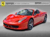 2015 Ferrari 458 Spider - FERRARI APPROVED - CERTIFIED