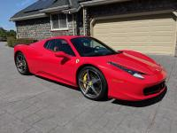 I need to sell my 2015 Ferrari 458 Spider. I bought it
