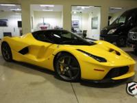 The LaFerrari pushes the boundaries of a road car by