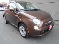 Exceptional design specifies the 2015 FIAT 500! It
