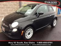 2015 Fiat 500 Pop Nero Noctis Black Balance of Factory