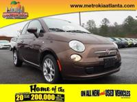 This 2015 FIAT 500 Pop features a hill start assist,