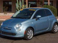 Options:  2015 Fiat 500 2D Hatchback Pop|Luce Blu