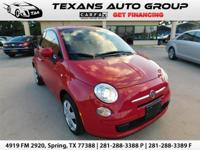 ***2015 FIAT POP 500 AUTOMATIC SPORT 20K ORIGINAL MILES