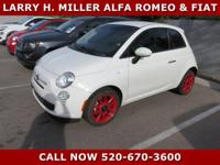 Abarth Premium Wheels, One Previous Owner, Great MPG,