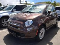 Come see this 2015 FIAT 500 Pop. Its Manual