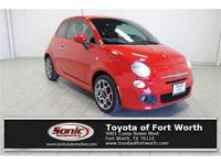 Look at this 2015 FIAT 500 Sport. Its Automatic