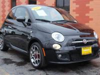Snag a deal on this 2015 FIAT 500 Sport before someone