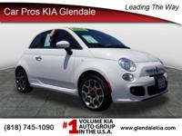This 2015 FIAT 500 Sport has less than 26k miles...