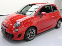 2015 Fiat 500 with 1.4L I4 Engine,5-Speed Manual