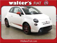 The amazing news is the FIAT 500e is here at Walter's