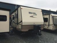 The 2015 Micro-Lite Travel Trailer Model 21DS is one of