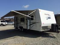 The 2015 Micro-Lite Travel Trailer Model 25KS is one of