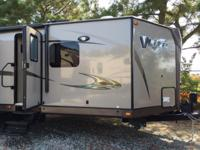 The 2015 V-Lite Travel Trailer Model 30WIKSS is one of