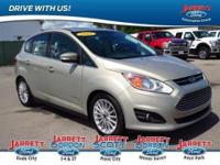This 2015 Ford C-Max Hybrid SEL has less than 8k
