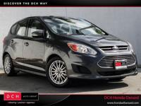 CARFAX One-Owner. Gray 2015 Ford C-Max Hybrid SE FWD