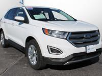 2015 Ford Edge SEL Certified. AWD, HEATED FRONT SEATS,