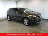 CARFAX One-Owner. Guard Metallic 2015 Ford Edge SEL AWD