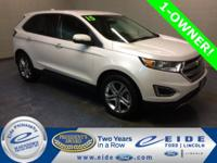 2015 Ford Edge Titanium Highlighted with Navigation,
