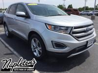 Recent Arrival! 2015 Ford Edge in Silver, Bluetooth,