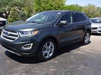 2015 Edge Titanium Clean CARFAX One Owner