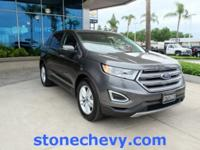 CARFAX One-Owner. Clean CARFAX. 2015 Ford Edge SEL
