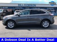 New Price! 2015 Magnetic Metallic Ford Edge SEL 6-Speed