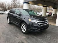 New Price! 2015 Ford Edge SE Tuxedo Black Metallic