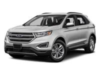JUST ARRIVED! 2015 Ford Edge SE AWD!**LOCAL, ONE OWNER