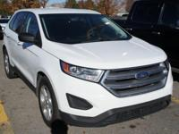 White 2015 Ford Edge SE AWD 6-Speed Automatic EcoBoost