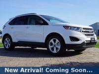 2015 Ford Edge SE in Oxford White, This Edge comes with