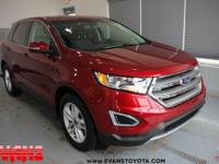 CARFAX One-Owner. Clean CARFAX. RED 2015 Ford Edge SEL