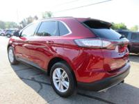 Options:  2015 Ford Edge Sel|Ruby Red Metallic Tinted