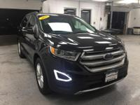 This 2015 Ford Edge SEL in Black features: 3.5L V6