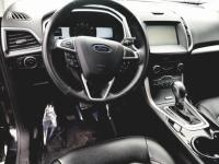 Black 2015 Ford Edge SEL AWD 6-Speed Automatic with