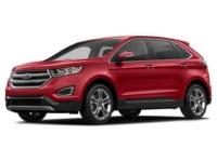 AWD. Red / Maroon 2015 Ford Edge SEL 4D Sport Utility
